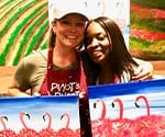 Dr. Beck at a Paint and Wine Event Copy