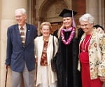 Dr. Beck at Her Graduation with Family