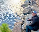 Dr. Beck Fishing in a Lake Copy