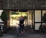 Dr. Beck Riding a Bike