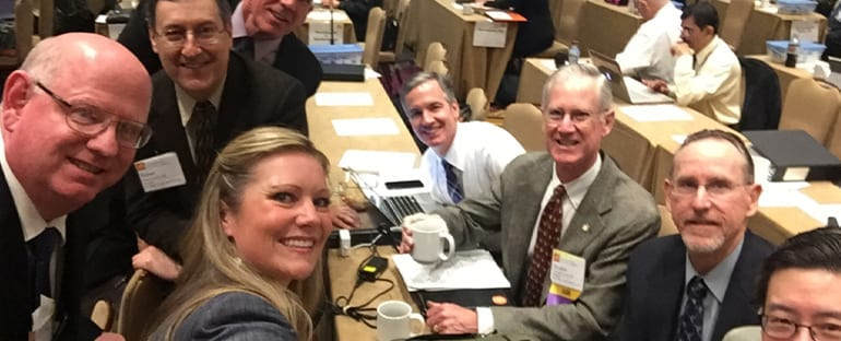 Dr. Beck with Colleagues